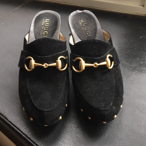11cd23d35065 Gucci Shoes -  Gucci  black mules clogs sandals 5
